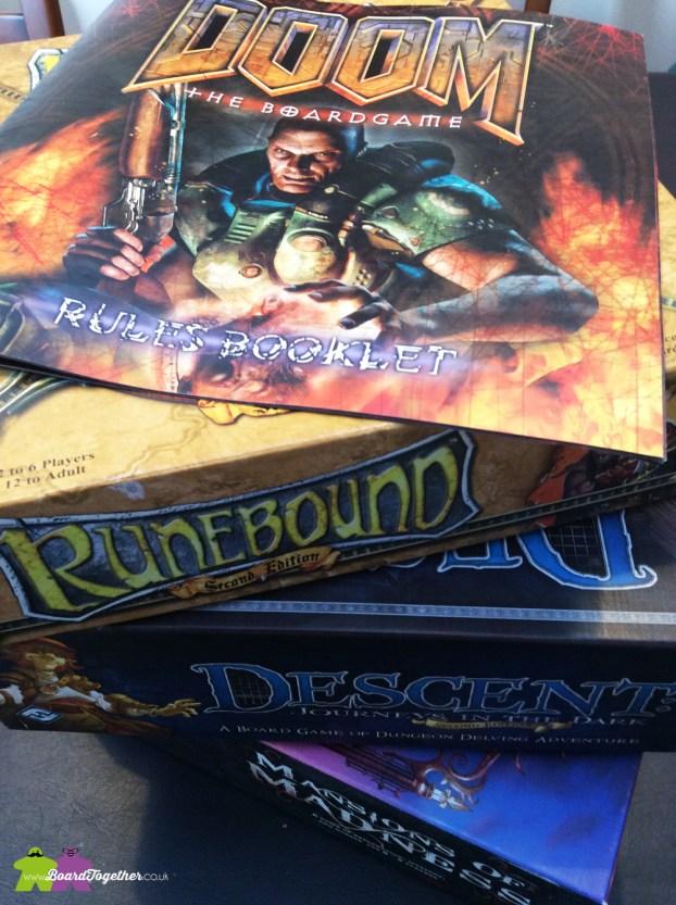 Boardgame editions