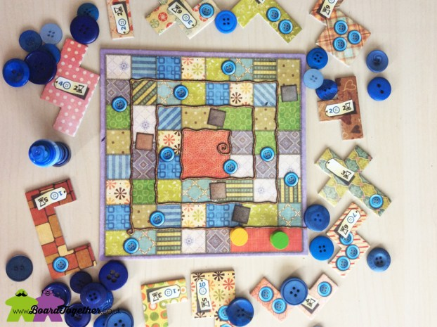 Patchwork the Boardgame