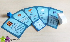 Thin ICe, Action Cards