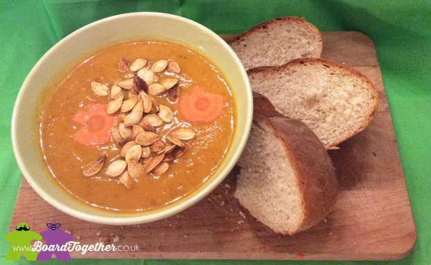 Pumpkin & Chorizo Soup