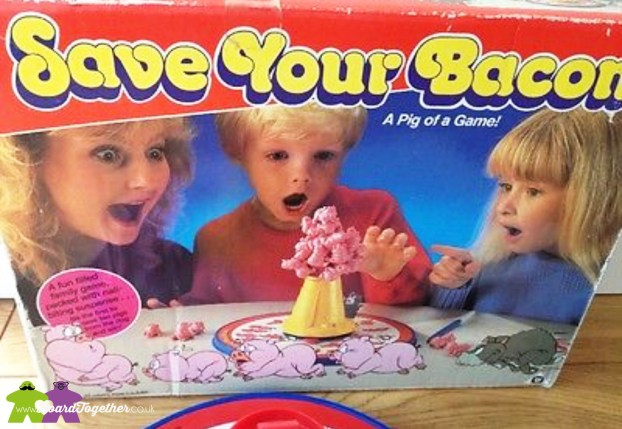 Save Your Bacon boardgame