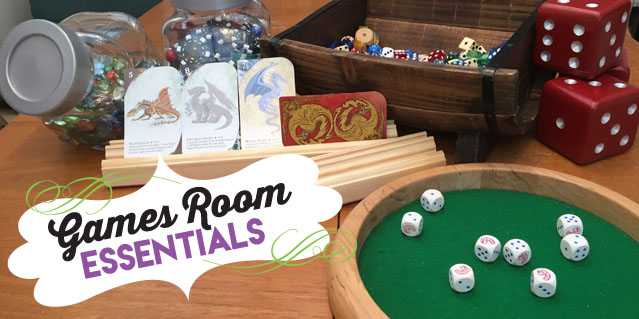 After 5 years our games room has evolved. We now know what works and what you really do need for a nice area to play games.