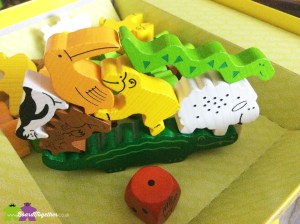 Animal Upon Animal boardgame