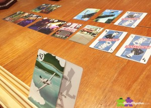 Playing Fugitive cardgame
