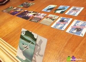 Playing Fugitive cardgame