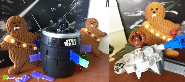 Pop Up Darth Vader and Loopin Chewie