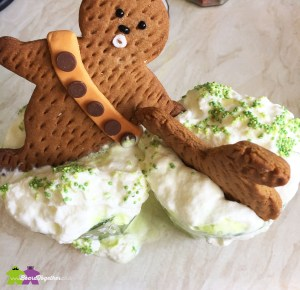 Dunk Wookie Cookies into cream for extra flavour!
