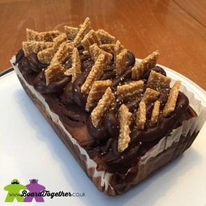 Chocolate & Sesame Cake