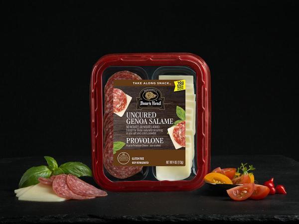 Genoa Salame Picante Provolone Cheese Snack Boar39s Head