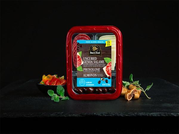 Genoa Salame Picante Provolone Cheese Dark Chocolate
