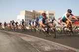 Dubai cycling bicycle race track