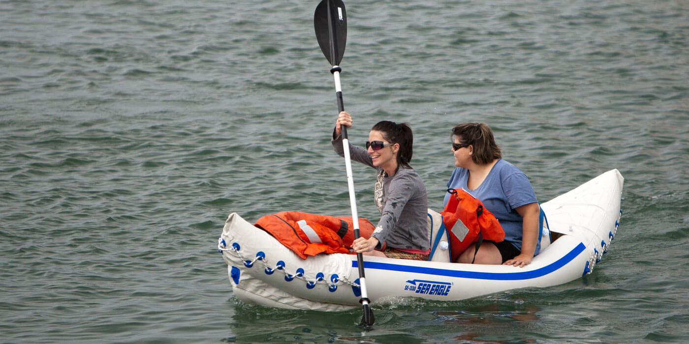 Sea Eagle 330 Inflatable Kayak Review