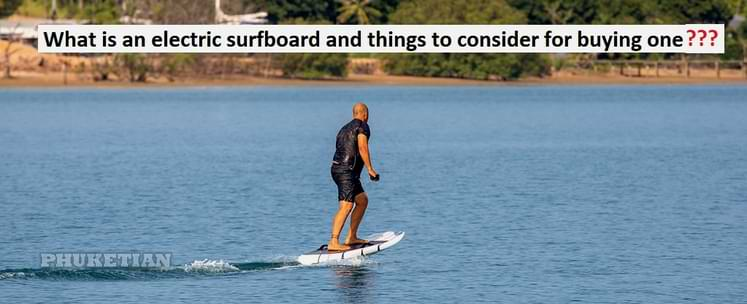 electric surfboard