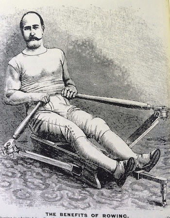 Rowing Machine Ad