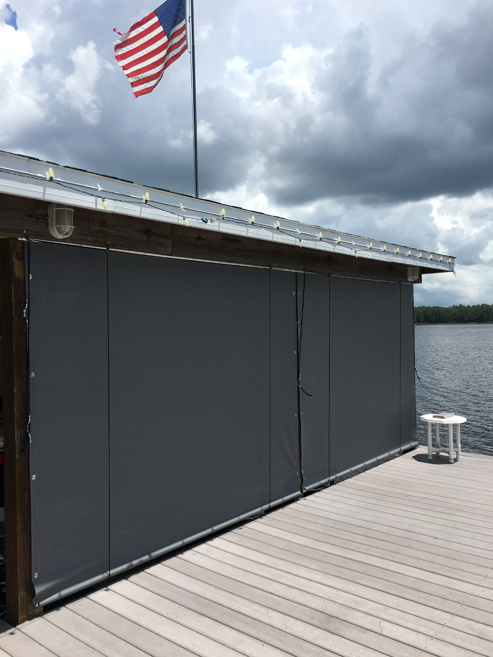 Boat House Shades Boat Dock Screens Photo Gallery