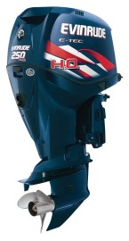 While four-stroke OEMs cut weight from their engines, Evinrude says its light-by-design two-strokes give it a competitive advantage.