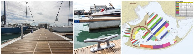 Marina Projects is based in London and works on projects throughout the globe, including the Kebony Yarmouth Harbor on the Isle of Wight. The company stresses that even nearby marinas can require entirely different solutions to match the environment and customer base.