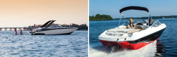 The market has focused on adding versatility to the stern as surveys show owners spending more time anchored.
