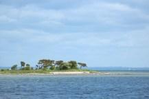 aeroeskoebing denmark hut trees sky water blue