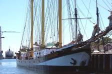 sky house water boat mast denmark marstal