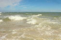 skagen denmark beach sky blue water waves