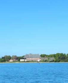Troense denmark water sky blue castle building