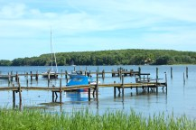 thurø thuro denmark water sky blue boats