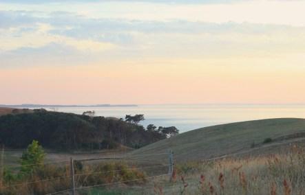mårup samsoe denmark blue sky field island
