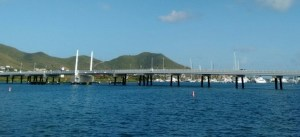 causeway bridge from the french side
