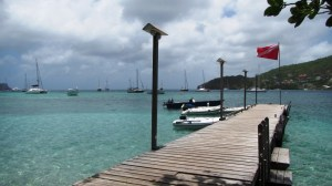 bequia dinghy dock and anchorage