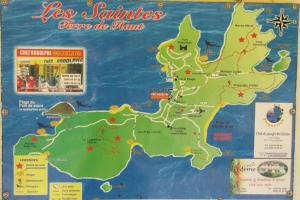 les saintes picture map