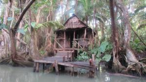 river cabin built for Pirates of the Caribbean movie