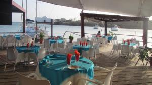 True Blue Resort Restaurant deck