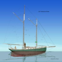 Schooner Boat, next iteration
