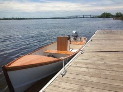 Launching party 8 wrangling skiff