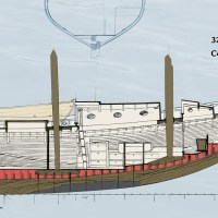 The Schooner Boat, Coming Together. Cross Post Antonio Dias Design