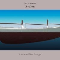 Avalon, a 106' Schooner