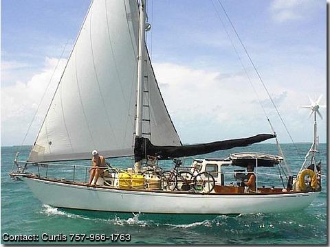 1961 Rhodes 32 Chesapeake PontoonCats