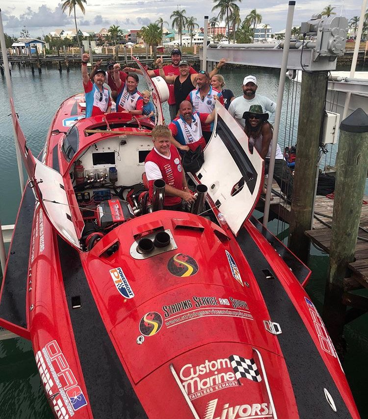 Powerboat P1 Promoting Two Ocean Races This Summer