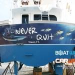 Motor Yacht Transom Wrap West Palm Beach Florida