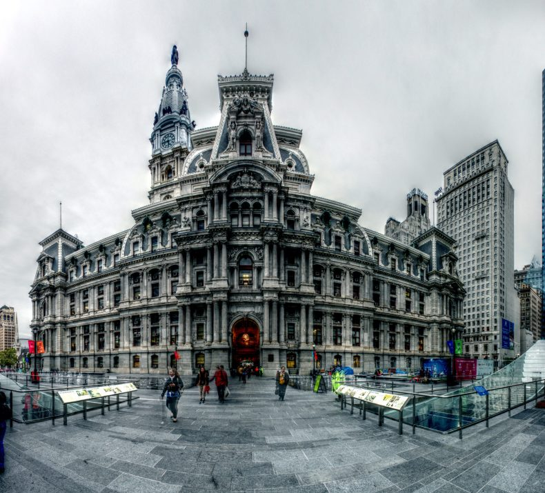 Dilworth Park 15th and Market Streets Philadelphia, PA Copyright 2014, Bob Bruhin. All rights reserved. (prints via bruhin.us/1OQFz4J) ------ Luminance HDR 2.3.0 tonemapping parameters: Operator: Mantiuk06 Parameters: Contrast Mapping factor: 0.1 Saturation Factor: 0.8 Detail Factor: 1 ------ PreGamma: 1