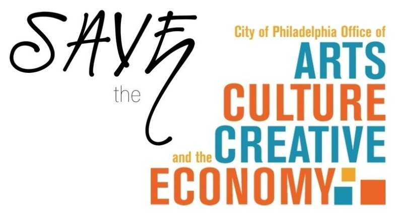 Save the City of Philadelphia Office of Art, Culture, and the Creative Economy