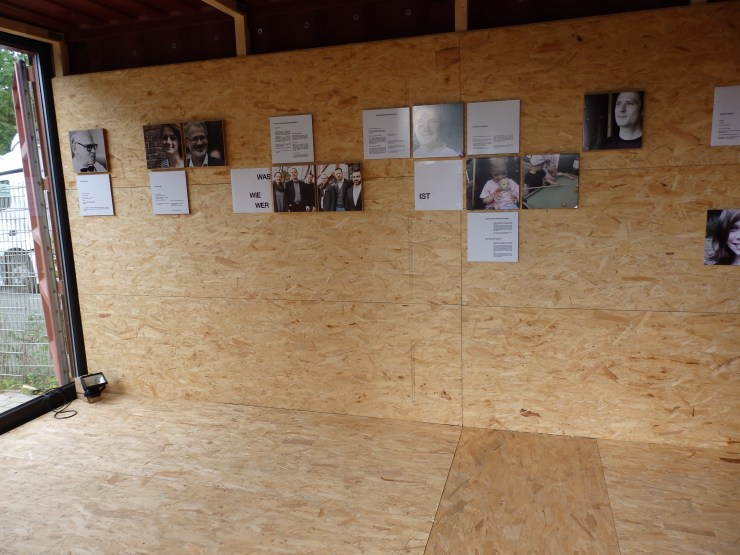 Infopunkt/Begenungsort/Ausstellungsraum