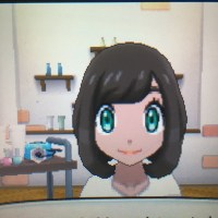 Pokemon Sun and Moon Female Hairstyles on Tan Skin