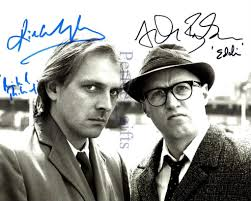 Rik Mayall and Ade Edmondson