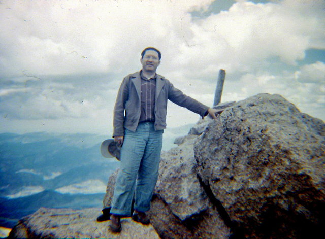 Uncle Ogle on summit