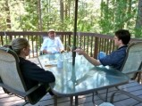 Debriefing at our home