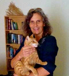 Nancy & cat