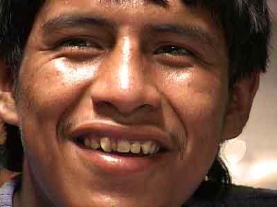 Wilmer, a pickpocket in Lima, Peru.