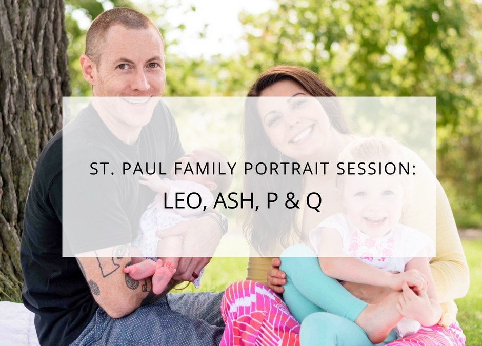 Dayton's Bluff, St. Paul, Minnesota: Family Photo Session
